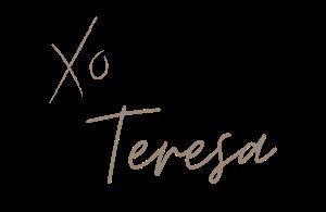 xo teresa signature