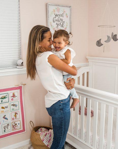 Baby Girl Nursery Organization and Tour