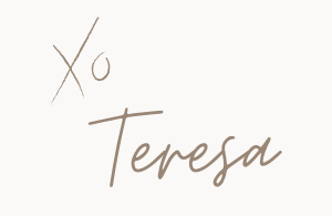 Hi, I'm Teresa!